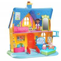 Just Play Доктор Плюшева клиника дом Doc McStuffins Clinic Doll House with Doll