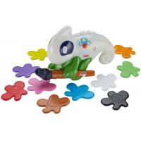Fisher-Price Интерактивная обучающая игрушка сканер-Хамелеон Think Learn Smart Scan Color Chameleon