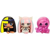 Monster High Minis Набор фигурок Клео де Нил, Рошель Гойл, Ари Хантингтон 3-pack