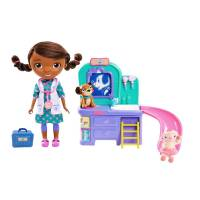 Набор доктор Плюшева ветеринарная клиника Doc McStuffins pet clinic doll  экоупаковка