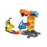 VTech Go! Go! Строительная площадка и кран smart wheels learning zone construction site