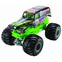 Hot Wheels Monster Jam большой джип-внедорожник копатель могил