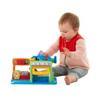 Fisher-Price гараж умного щенка Laugh & Learn Puppy's Numbers Garage