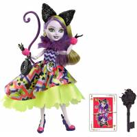 Ever After High Китти Чешир дорога в страну чудес Kitty Chesire Way Too Wonderland