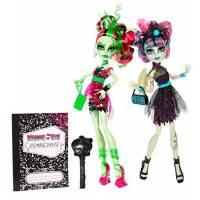 Monster High Набор кукол Венера МакФлайтрап и Рошель Гойл из серии Танцы Зомби