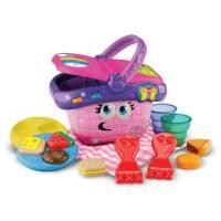 Leap Frog Интерактивная Корзина Пикник обучающая shapes and sharing picnic basket