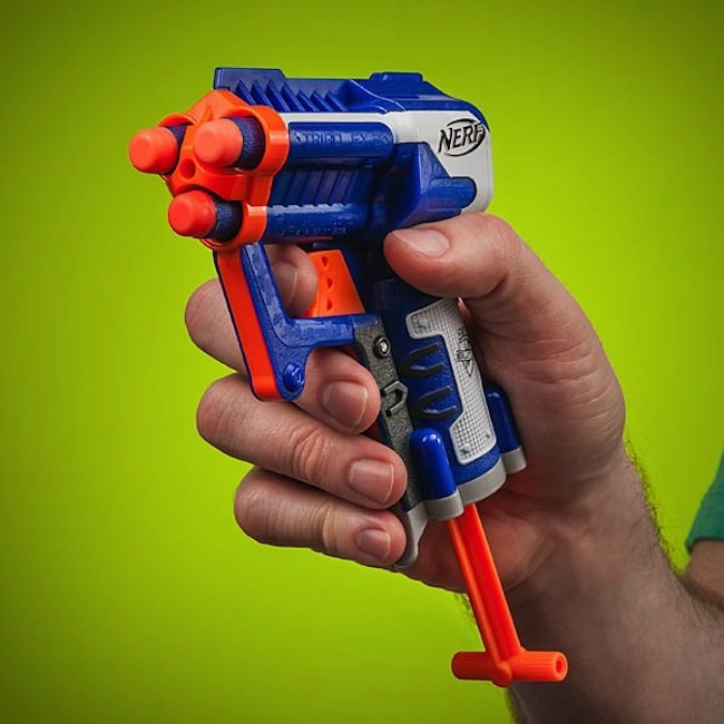Купить Nerf Бластер Элит Триад синий N-Strike Elite Triad EX-3 Blaster A1690 по отличной цене в киеве