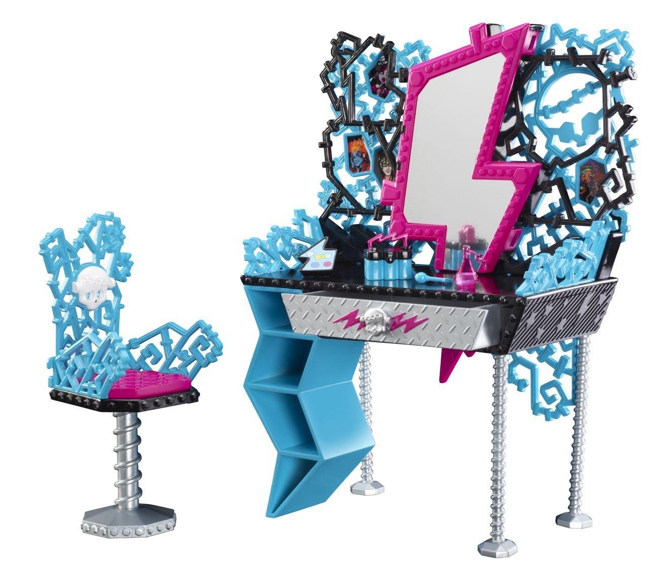 Кукольный туалетный столик своими руками 37